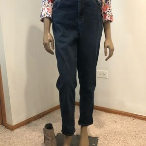 Chico's High Rise Ankle Jeans Sz 2.5 (14)